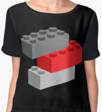 Bricks  Chiffon Top