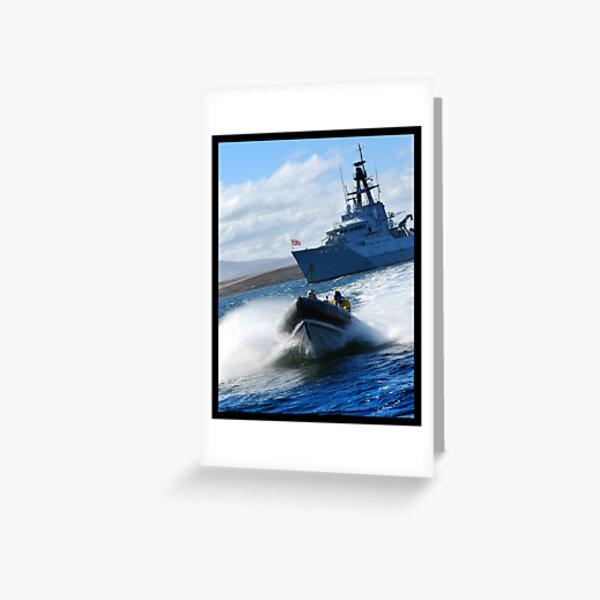 Sea Boat Greeting Card