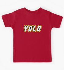 YOLO by Customize My Minifig Kids Tee