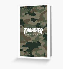 Thrasher Magazine Greeting Card