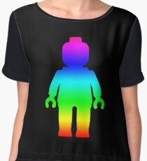 Minifig [Large Rainbow 1]  Chiffon Top