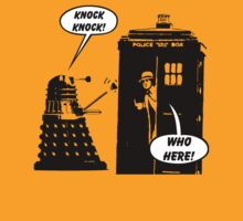 TShirtGifter Presents: Doctor Who exterminates another Knock Knock joke!