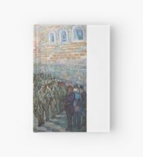 The Round of the Prisoners by Vincent van Gogh Hardcover Journal