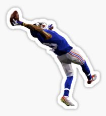 Odell Beckham Jr. Catch Low Poly Sticker