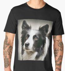 Working Border Collie Men's Premium T-Shirt