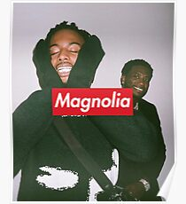 MAGNOLIA Happy Playboi Carti & and Friends Print Poster
