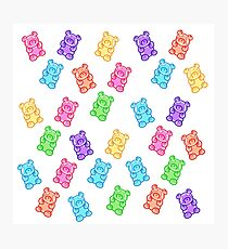 Gummy bear party Photographic Print