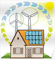 Home Energy Poster