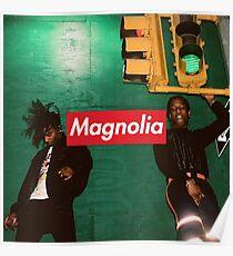 MAGNOLIA Playboi Carti & Friends Print Poster