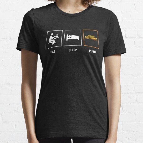Essen Sie Schlaf PUBG Essential T-Shirt