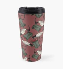 Bin Chicken - Maroon Travel Mug