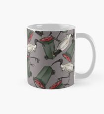 Bin Chickens - Grey Classic Mug