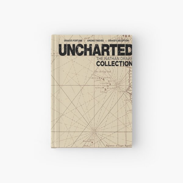 Uncharted Map Design Hardcover Journal