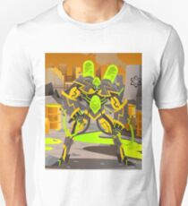 radioactive giant toxicrobot in power plant T-Shirt