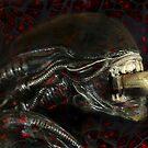 Alien...EnragedShadow by RosaCobos