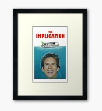 The Implication Framed Print