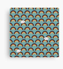 Skate and Glam Leinwanddruck