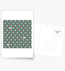 Skate and Glam Postkarten