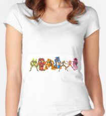 powerful battle robots collection Women's Fitted Scoop T-Shirt
