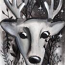 Starlight Deer by makemerriness