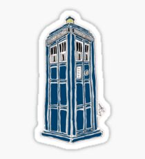 DOCTOR WHO / ANDREW BAILIE Sticker