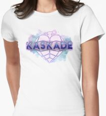 Kaskade Heart (Water Color Version/smooth) Women's Fitted T-Shirt