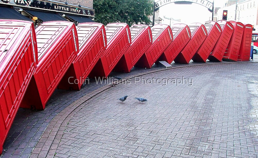 Kingston Phone Boxes by Colin  Williams Photography