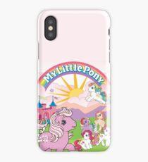 retro my little pony g1 iPhone Case/Skin