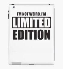 I'm not weird iPad Case/Skin