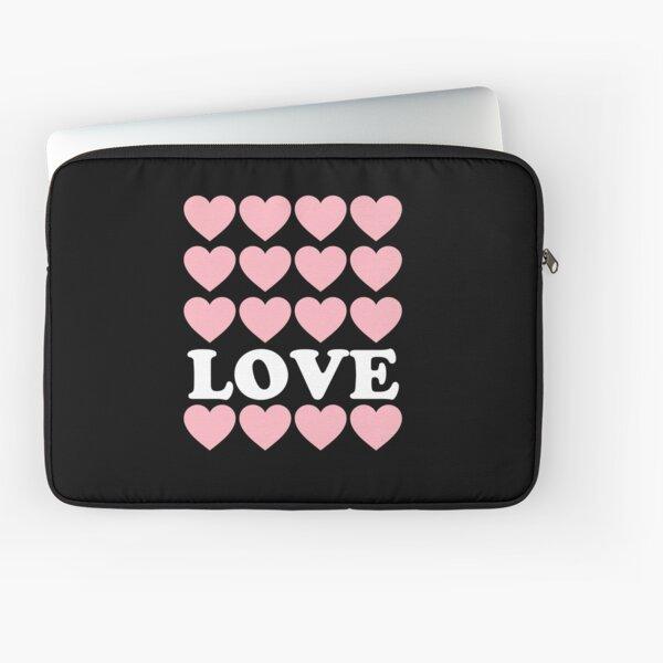 Love Hearts Girls Laptop Sleeve