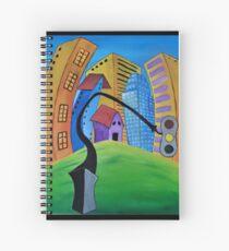 The Traffic Light Spiral Notebook