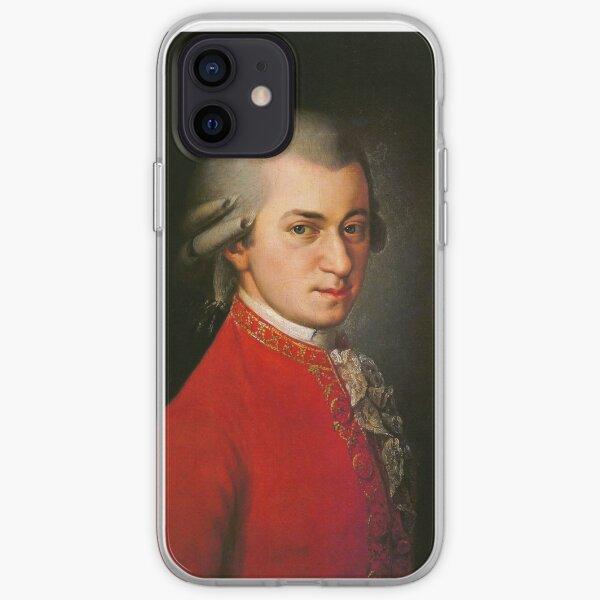 Wolfgang Amadeus Mozart  iPhone Soft Case