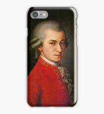 Wolfgang Amadeus Mozart  iPhone Case/Skin