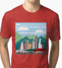 City Hills Tri-blend T-Shirt