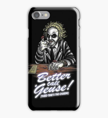 Better Call Geuse iPhone Case/Skin