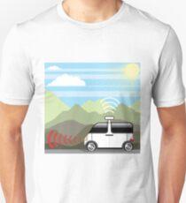 Self-driving box car T-Shirt