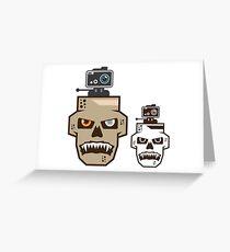Skull cam Greeting Card