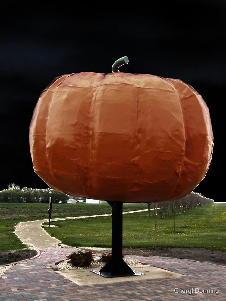 roland pumpkin by Cheryl Dunning
