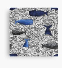 On The Open Sea  Leinwanddruck