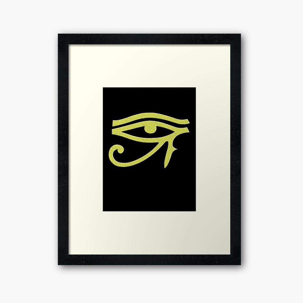 Auge von Ra Gerahmter Kunstdruck