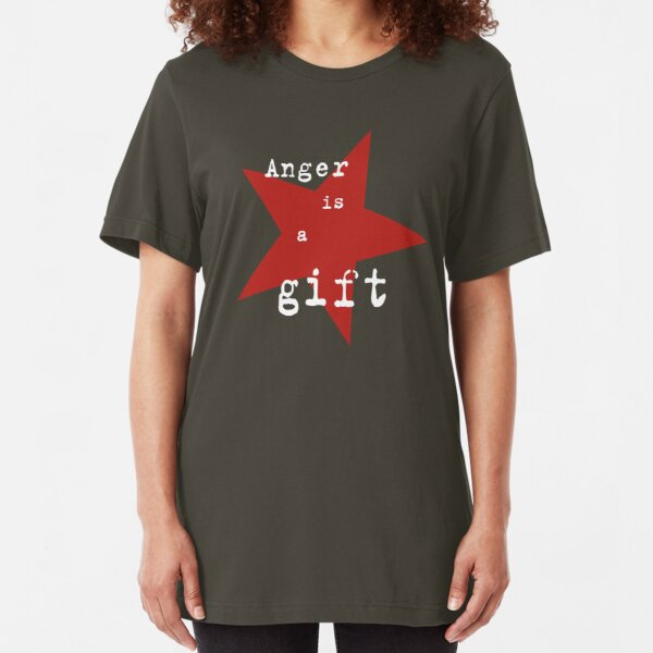 Anger is a gift Slim Fit T-Shirt