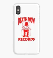 Death Row Records Chair Logo 2017 Hoodie iPhone Case/Skin
