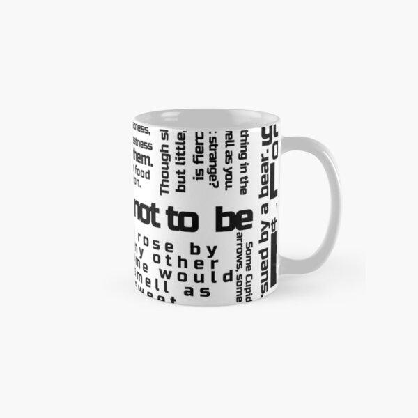 William Shakespeare Phrase Novelty Educational Mug