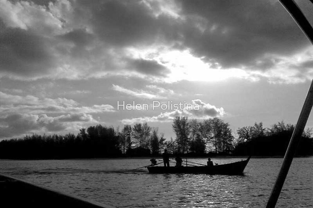 Fishing by Malaysia by Helen Polistina