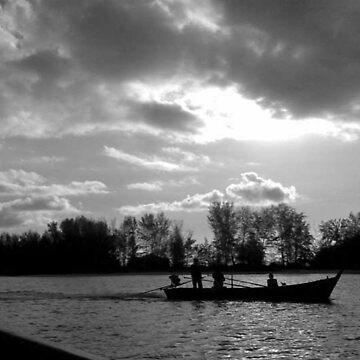 Fishing by Malaysia by Orangemoth
