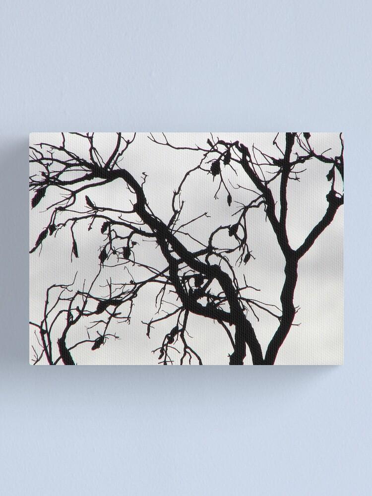 Alternate view of Spooky Tree Canvas Print
