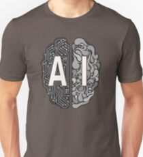 AI – Artificial Intelligence Slim Fit T-Shirt
