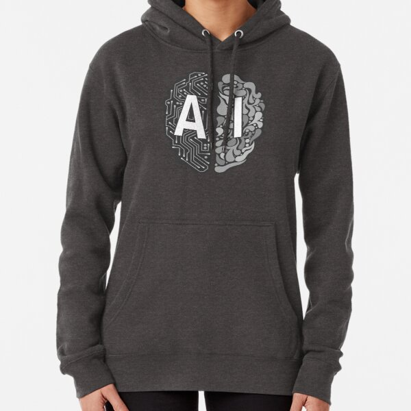 AI – Artificial Intelligence Pullover Hoodie