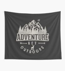 Adventure get Outdoor Wall Tapestry