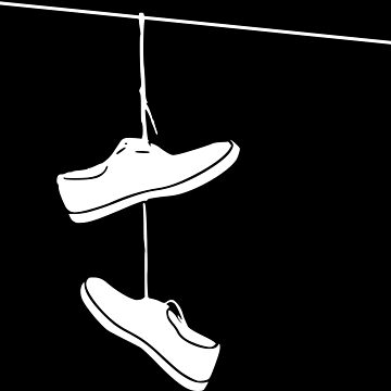 Shoes on a Line (White) by AaronKinzer